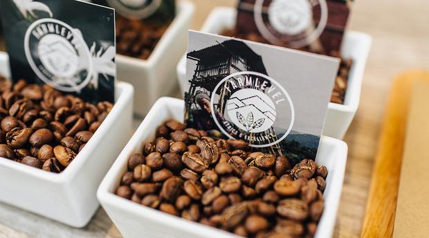 Verve coffee beans farmlevel