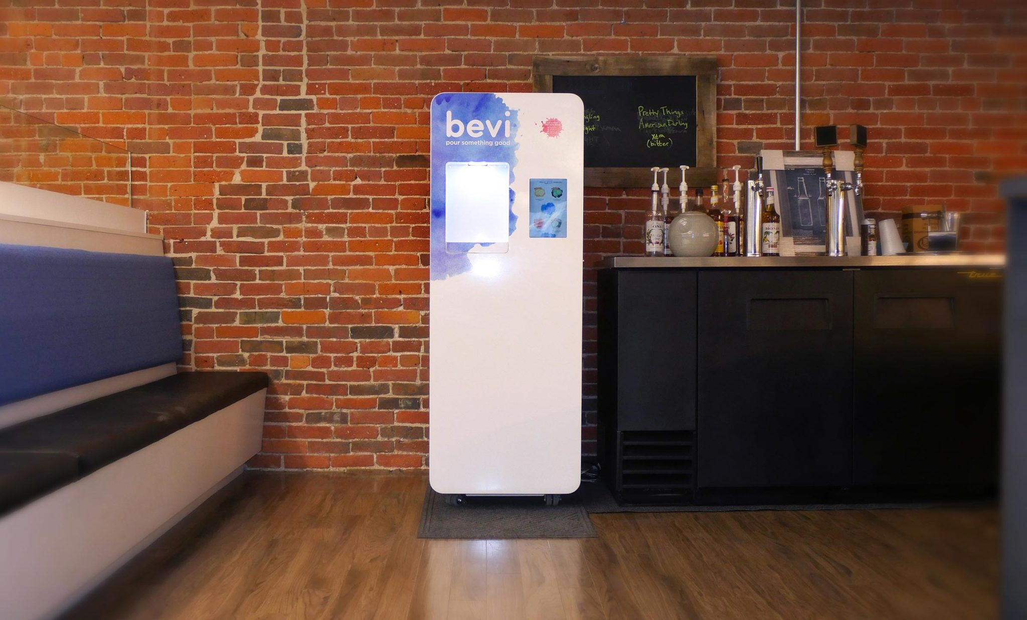 Standing Bevi Smart Water Cooler