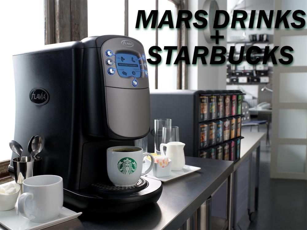 Starbucks and Mars